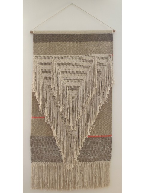 tapis mural varanassi inca collection freeform weaving laine et coton. Black Bedroom Furniture Sets. Home Design Ideas