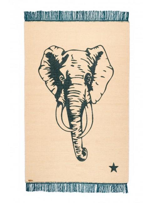 Tapis Eléphant Pop