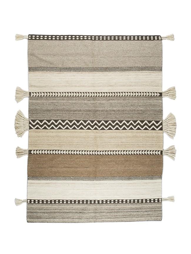 tapis varanassi glaoui naturel laine non teint e tissage. Black Bedroom Furniture Sets. Home Design Ideas