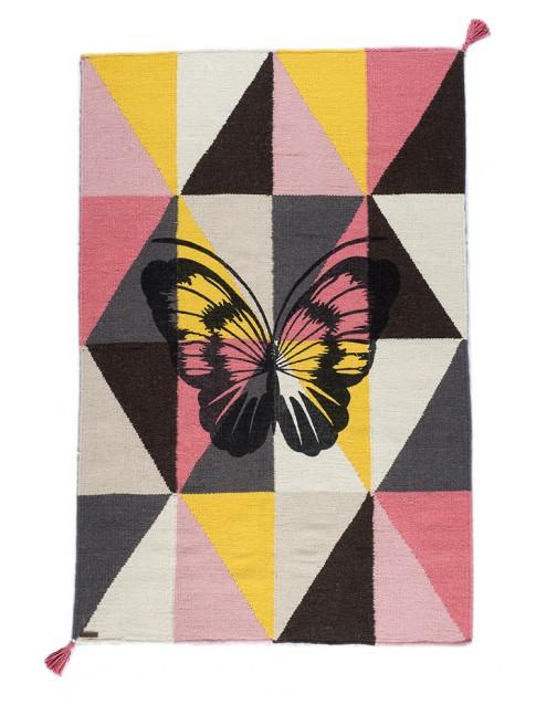 Tapis Arlequin Papillon Circus