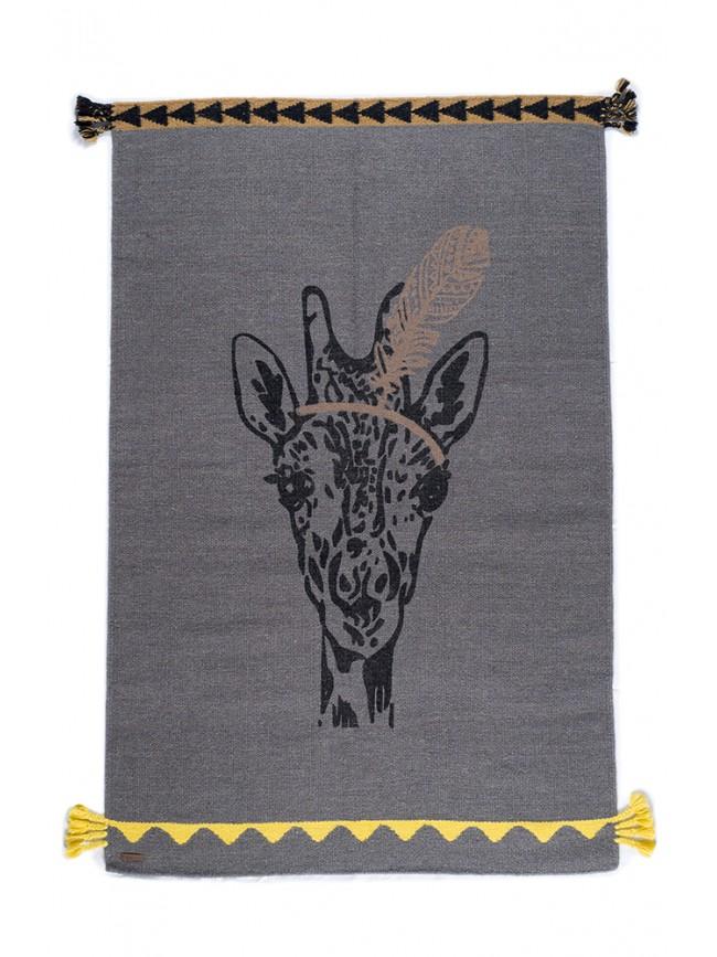 Tapis Girafe Plume
