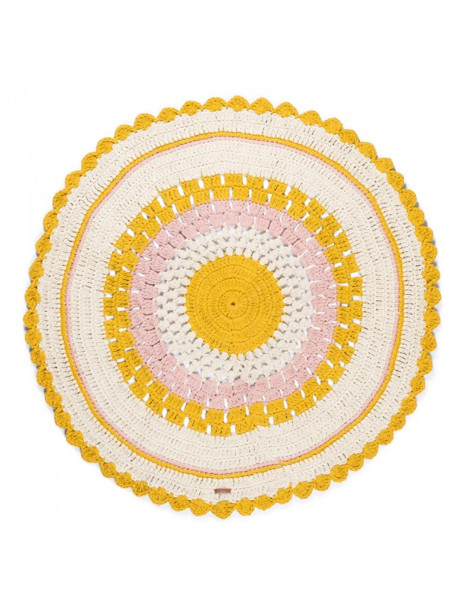 Tapis Broderie Gypsy 100% Coton